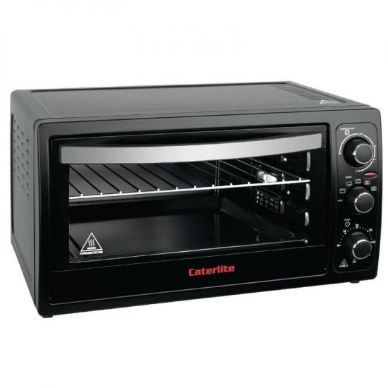 Caterlite Mini Oven With Rotisserie Function - 38Ltr URO CM272