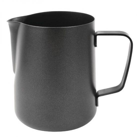 Olympia Black Non-Stick Milk Frothing Jug 570ml URO CM607