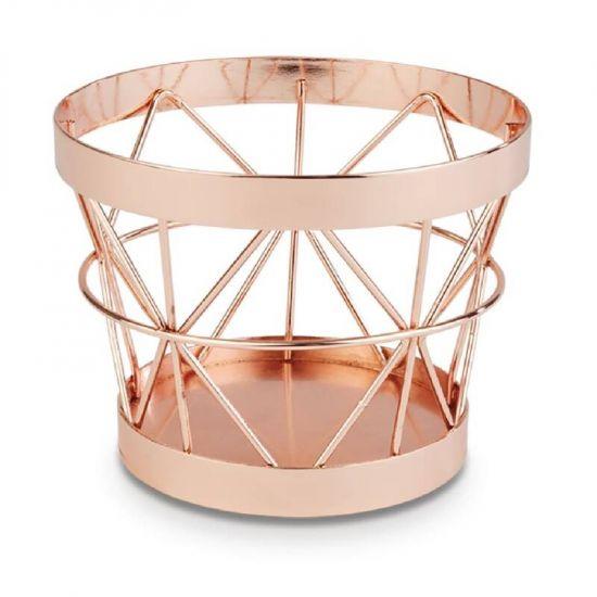 APS+ Metal Basket Copper 80 X 105mm URO CN090