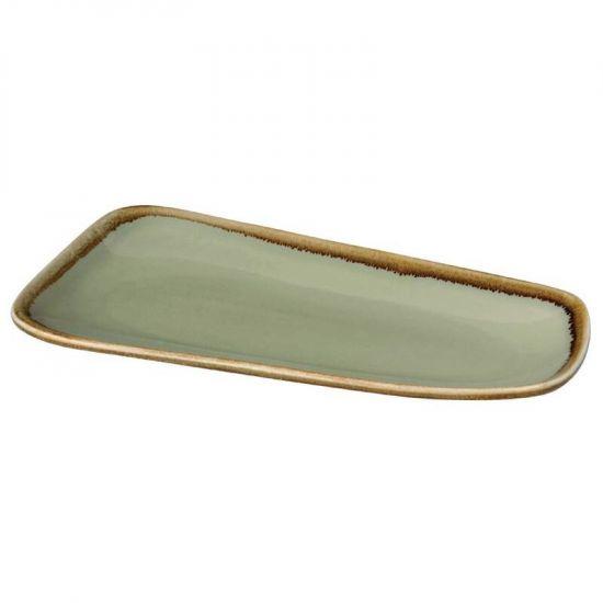 Olympia Kiln Small Platter Moss 260mm Box of 6 URO CP954