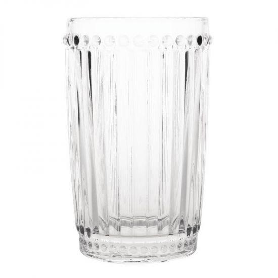Olympia Baroque Glass Tumbler 395ml Box of 6 URO CW396