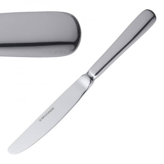 Olympia Baguette Table Knife Box of 12 URO D595
