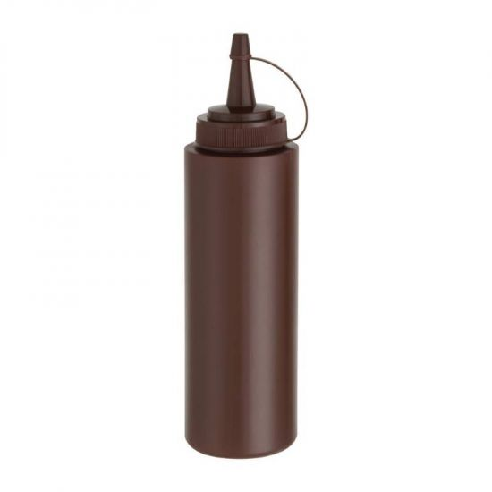Vogue Brown Squeeze Sauce Bottle 8oz URO E624