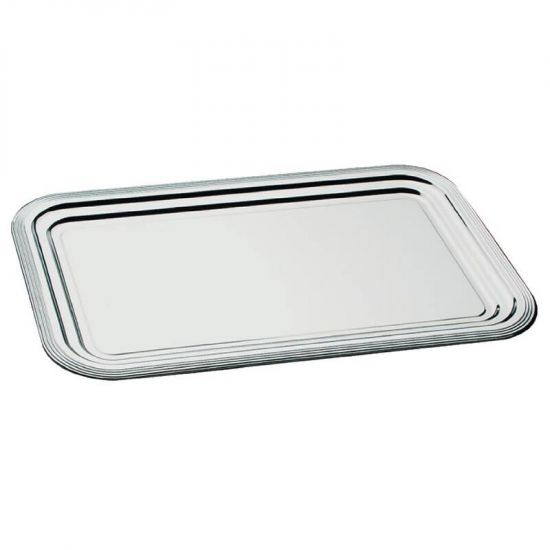 APS Semi-Disposable Party Tray GN 1/1 Chrome URO F764