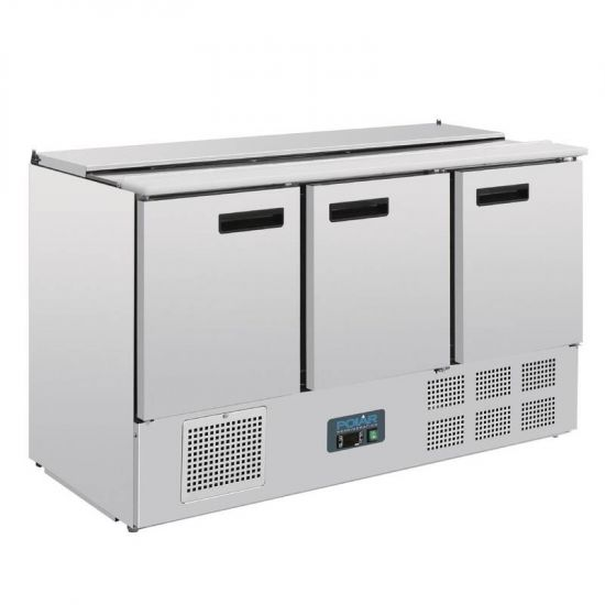 Polar Refrigerated Saladette Counter 368Ltr URO G607