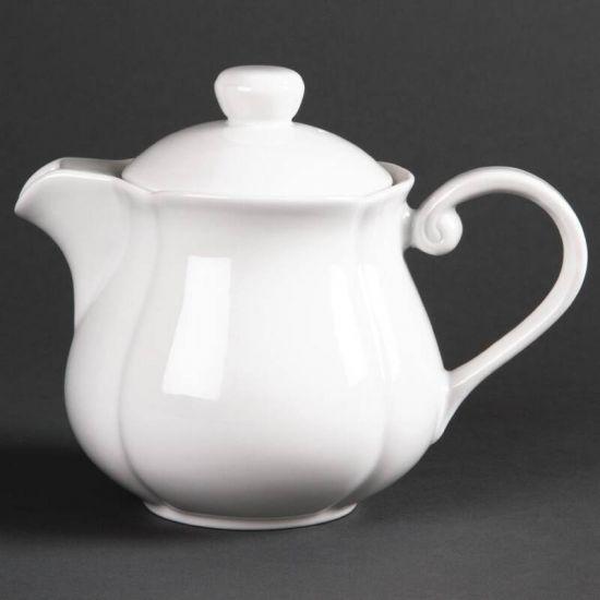 Olympia Rosa Teapots 696ml 24.5oz Box of 4 URO GC716