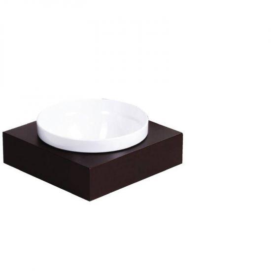 APS Frames Dark Wood Large Square Buffet Bowl Box URO GC920