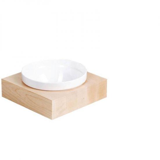 APS Frames Maple Wood Large Square Buffet Bowl Box URO GC921