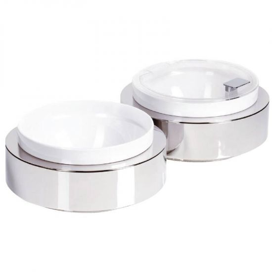 APS Frames Stainless Steel Large Round Buffet Bowl Box URO GC925