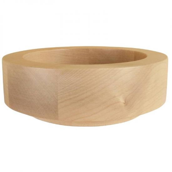 APS Frames Maple Wood Small Round Buffet Bowl Box URO GC930