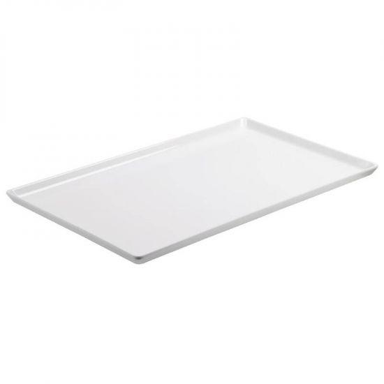 APS Float White Melamine Tray GN 1/2 URO GF076
