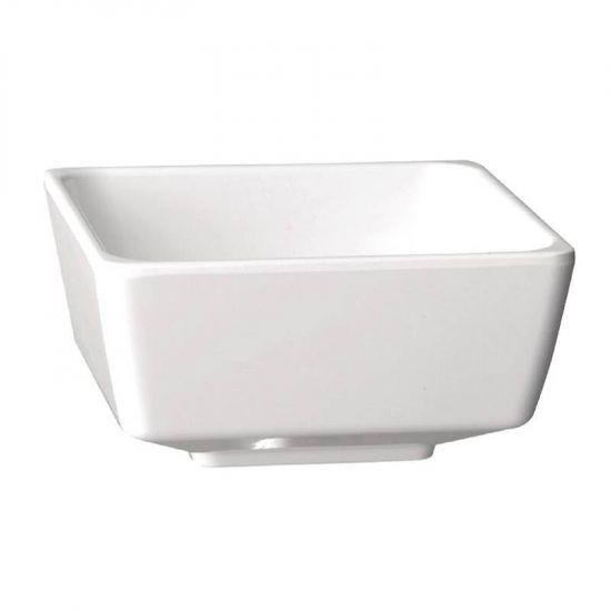 APS Float White Square Bowl 3.5in URO GF092