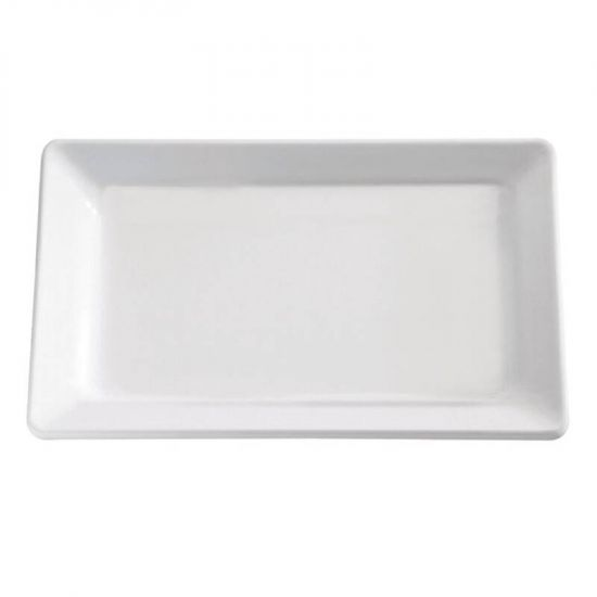 APS Pure White Melamine Tray GN 1/4 URO GF126