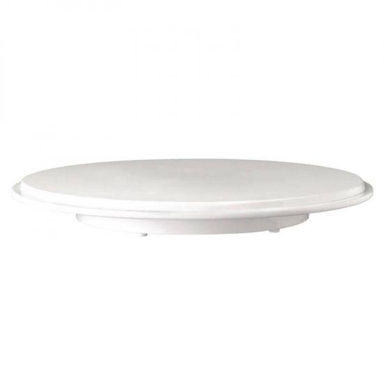 APS Pure Melamine White Cake Platter URO GF153