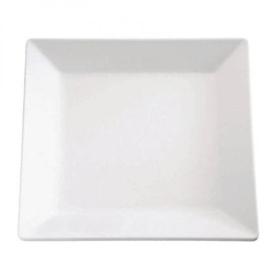 APS Pure Melamine Square Tray 10in URO GF172