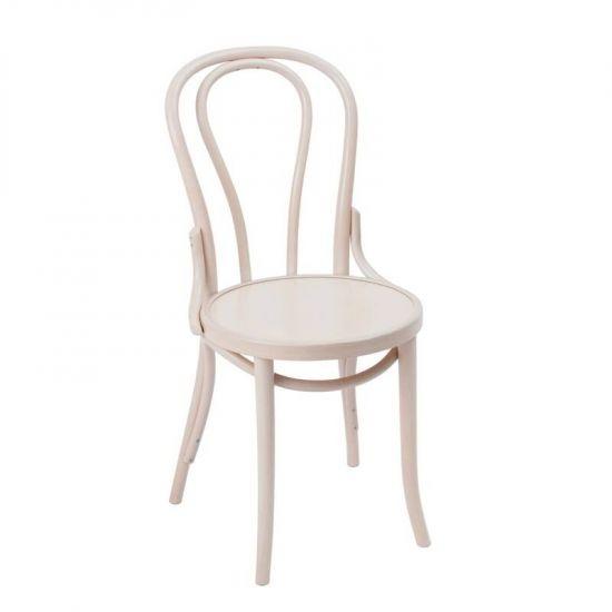Bolero Bentwood Chairs White (Pack Of 2) URO GF968