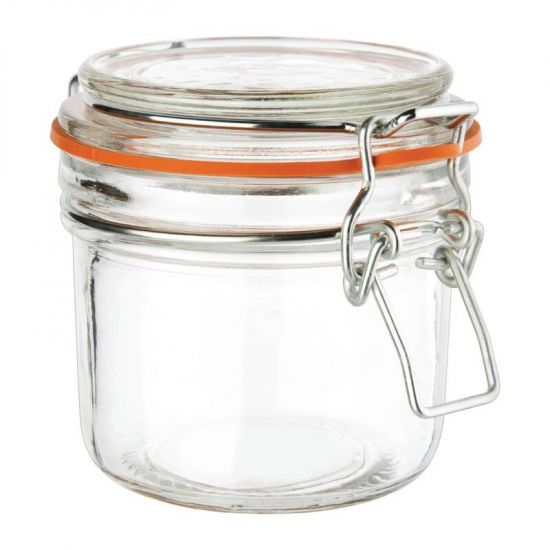 Six Vogue Preserve Jars 200ml URO GH328