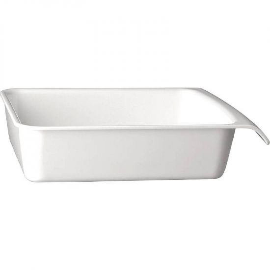 APS White 1/2GN Cascade Buffet Bowl URO GH400