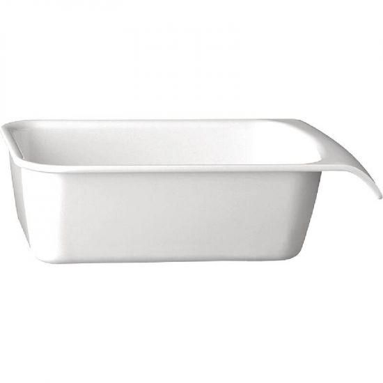 APS White 1/4GN Cascade Buffet Bowl URO GH402