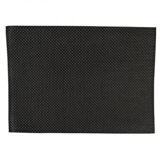 APS PVC Placemat Black URO GJ992