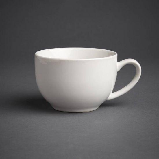 Olympia Cafe Cappuccino Cups White 340ml 12oz Box of 12 URO GK077