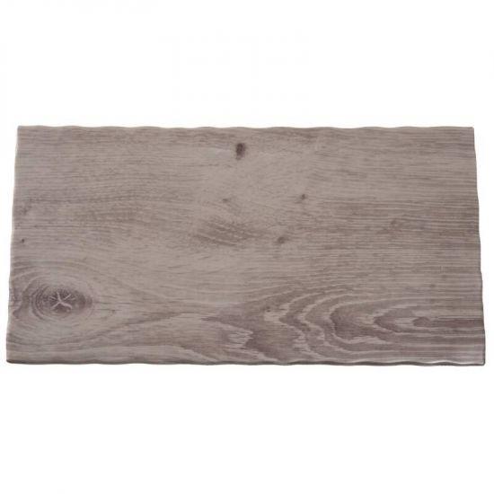 APS Wood Effect Melamine Tray GN 1/3 URO GK647