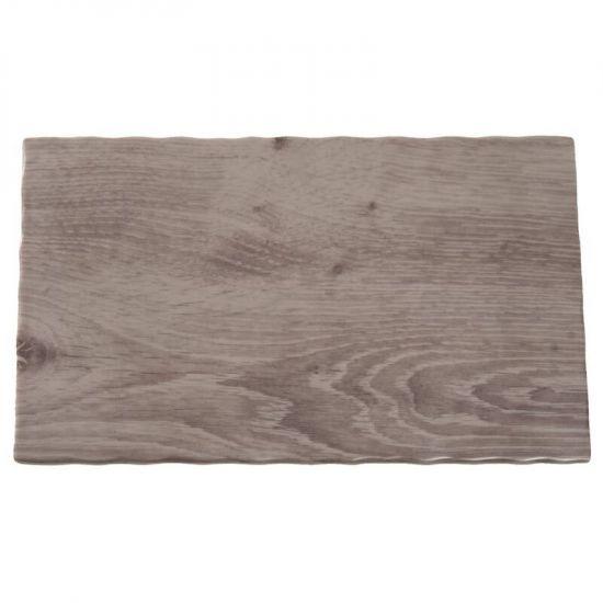 APS Wood Effect Melamine Tray GN 1/4 URO GK648
