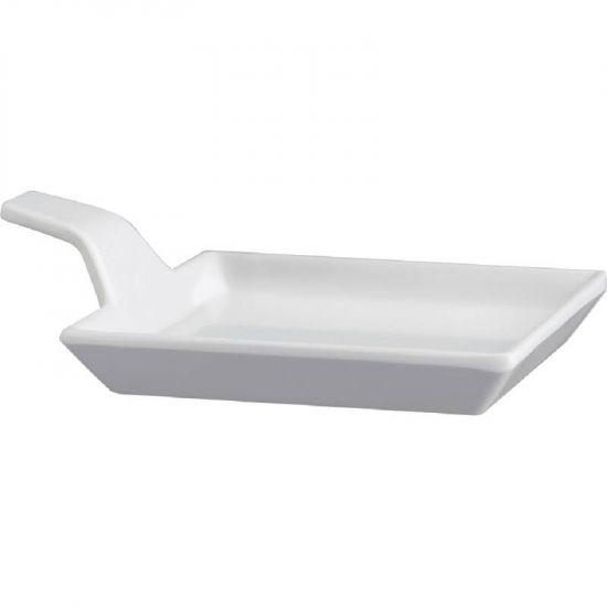 APS Melamine Fingerfood Dish White 95mm URO GK832