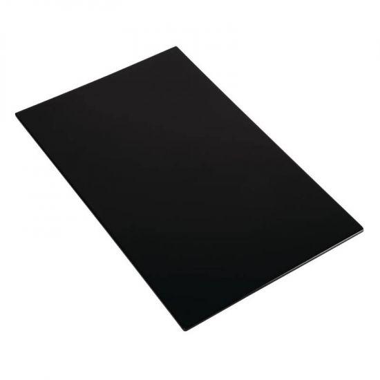 APS Zero Melamine Platter Black GN 1/1 URO GK854