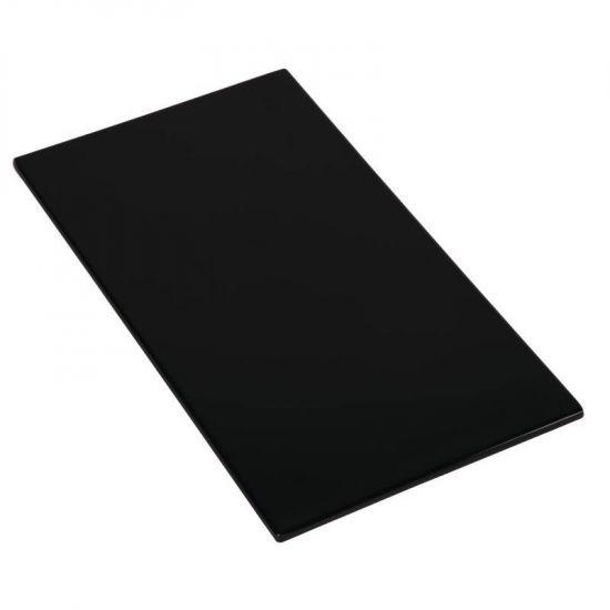 APS Zero Melamine Platter Black GN 1/3 URO GK856