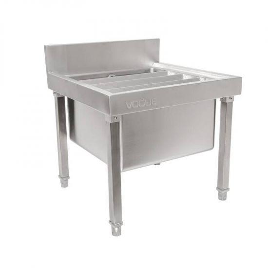 Vogue Stainless Steel Mop Sink URO GL281