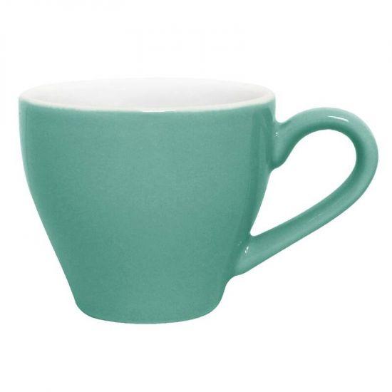 Olympia Cafe Espresso Cups Aqua 100ml 3.5oz Box of 12 URO GL459