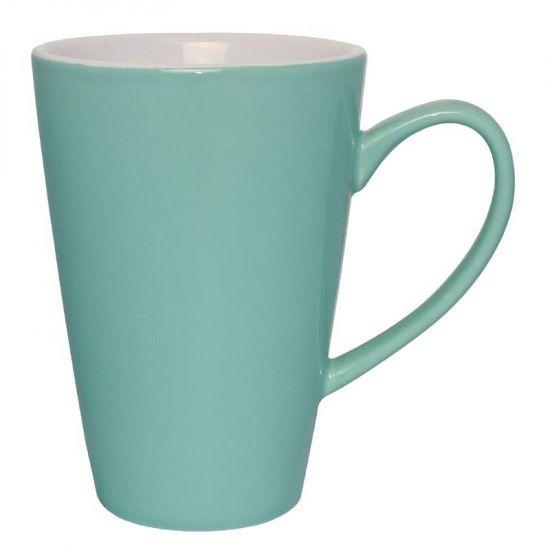 Olympia Cafe Latte Cups Aqua 340ml 12oz Box of 12 URO GL489