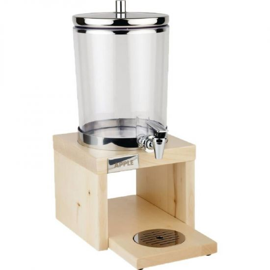 APS Wood Base Juice Dispenser Maple URO GL628