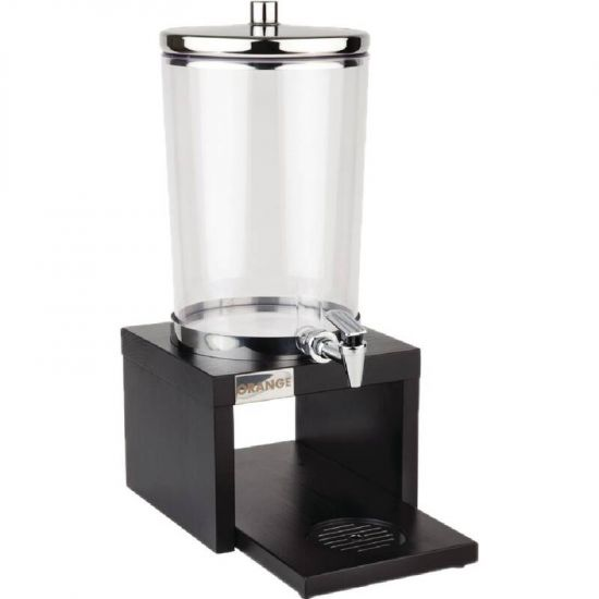 APS Wood Base Juice Dispenser Black URO GL629