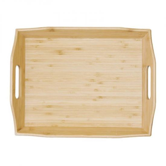 Bamboo Room Service Tray 15 X 11.5 In URO GM249
