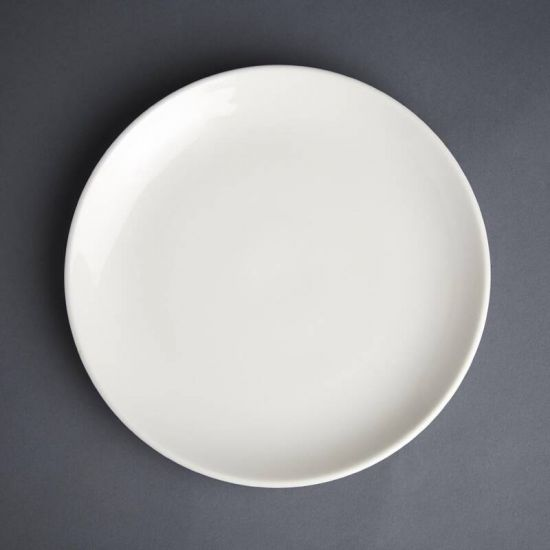 Olympia Ivory Coupe Plate 230mm Box of 12 URO GM444