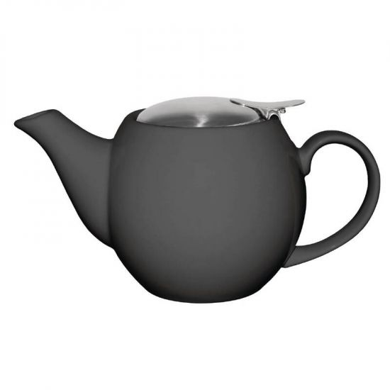 Olympia Cafe Teapot 510ml Charcoal URO GM596