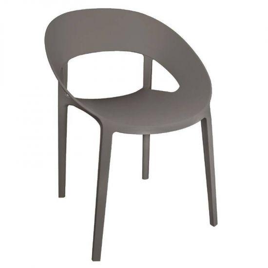 Bolero PP Wraparound Chair Coffee (Pack Of 4) URO GR339