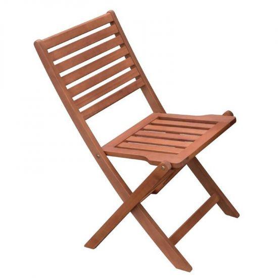 Bolero Wooden Folding Side Chair (Pack Of 2) URO GR398