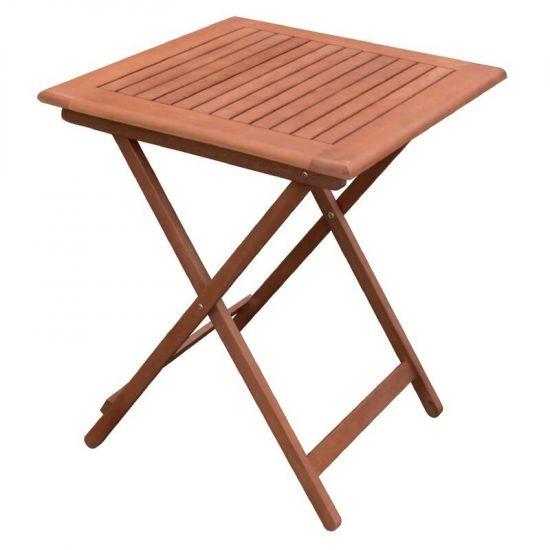 Bolero 600mm Square Wooden Folding Table URO GR399