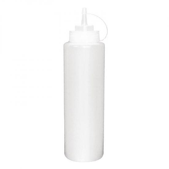 Vogue Clear Squeeze Sauce Bottle 24oz URO K163
