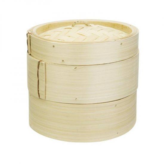 Vogue Bamboo Food Steamer 152mm URO K302