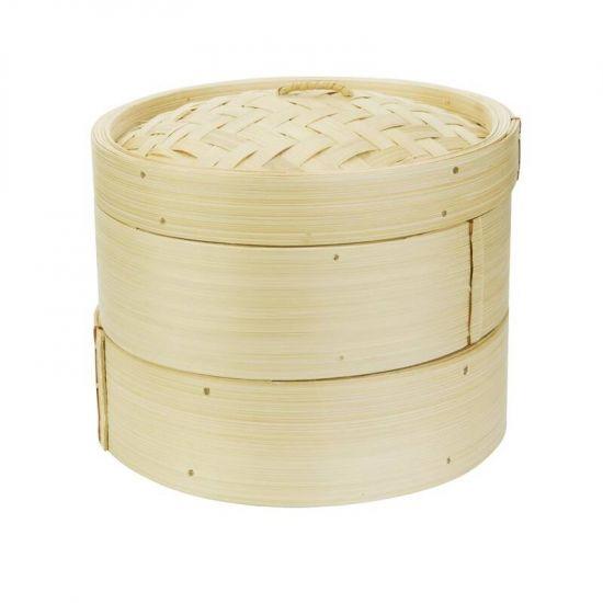 Vogue Bamboo Food Steamer 203mm URO K303