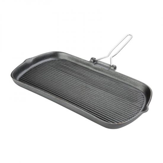 Vogue Cast Iron Grill Pan URO K417