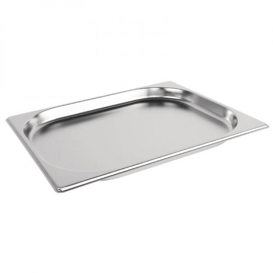 Vogue Stainless Steel 1/2 Gastronorm Pan 20mm URO K906
