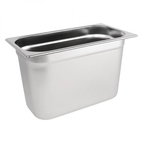 Vogue Stainless Steel 1/3 Gastronorm Pan 200mm URO K936