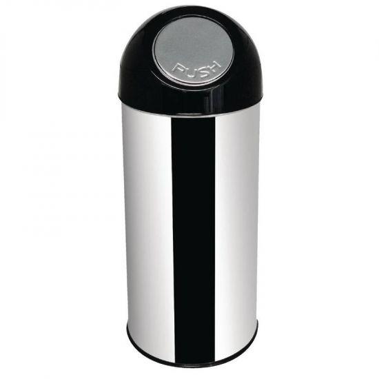 Bolero Stainless Steel Bullet Bin 50Ltr URO L044