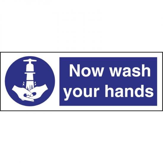 Vogue Now Wash Your Hands Symbol Sign URO L957