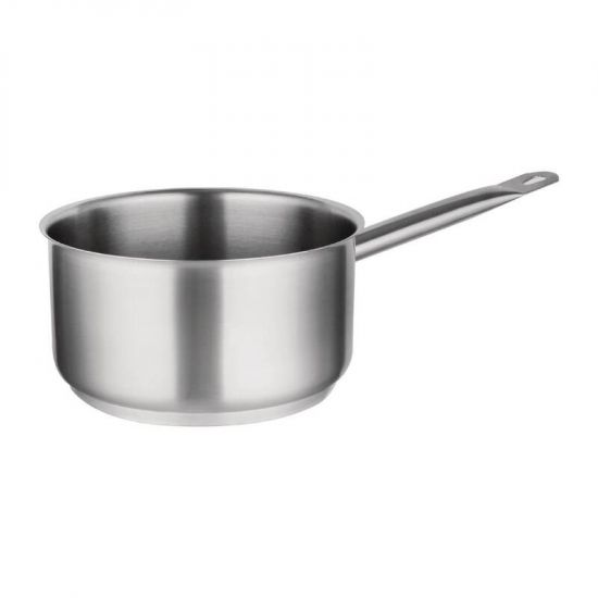 Vogue Stainless Steel Saucepan 3Ltr URO M944